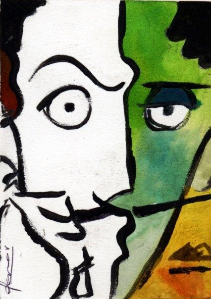 Salvador Dali by Gamor